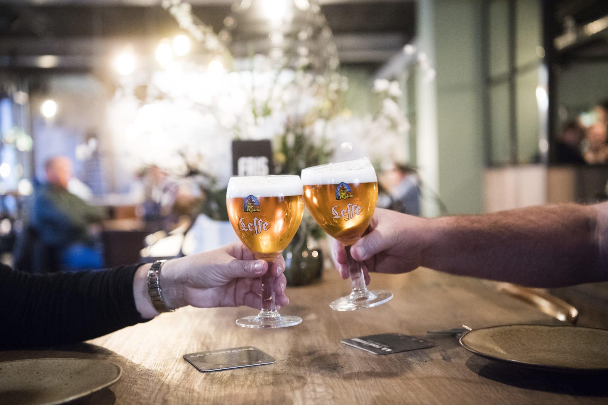 La Fontaine Bier arrangement