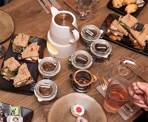 la fontaine arrangement high tea